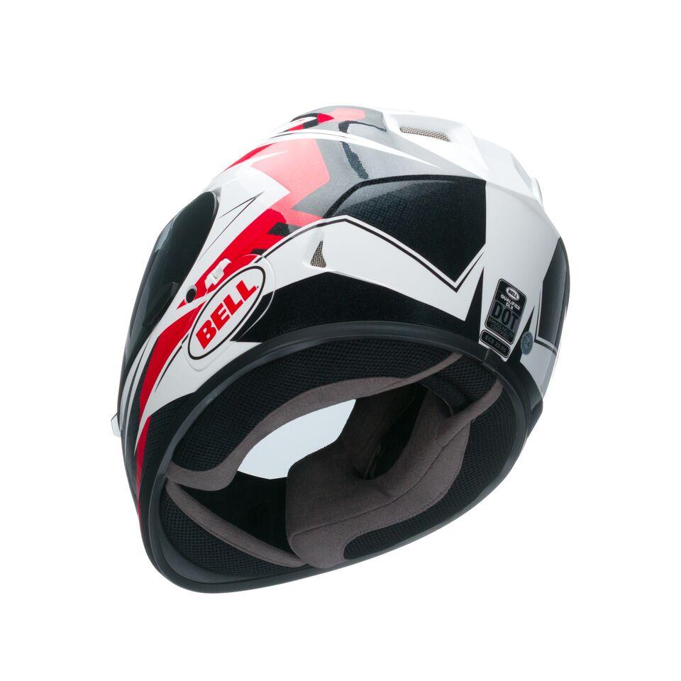 Capacete Bell Qualifier Clutch Red  - Super Bike - Loja Oficial Alpinestars