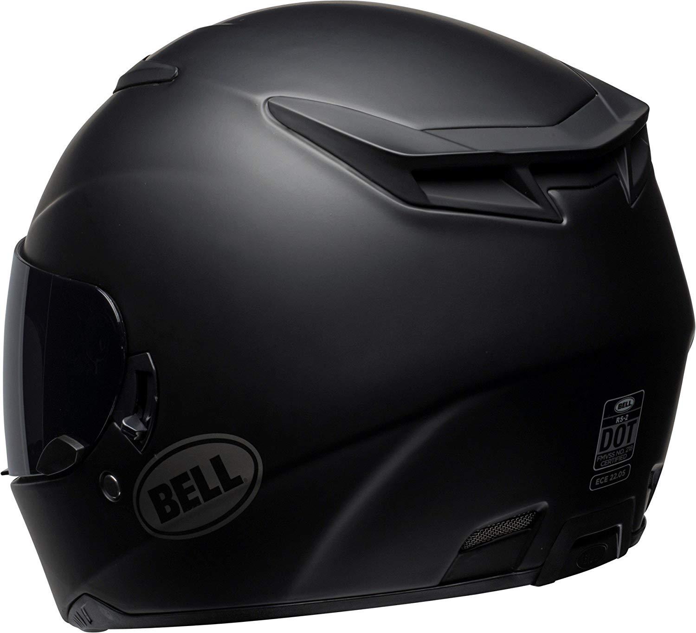 Capacete Bell RS-2 Solid Matte Black (com Viseira Solar Interna)  - Super Bike - Loja Oficial Alpinestars