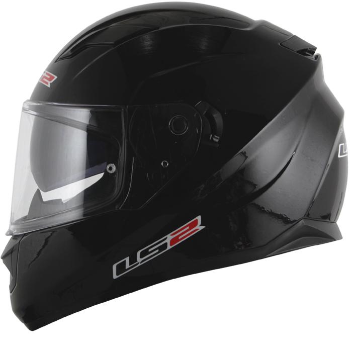 Capacete LS2 FF320 Stream Monocolor Black  - Super Bike - Loja Oficial Alpinestars