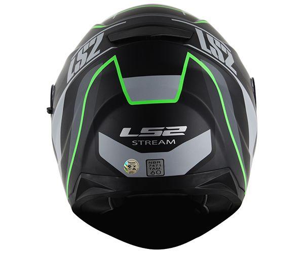 Capacete LS2 FF320 Stream Vantage Verde  - Super Bike - Loja Oficial Alpinestars
