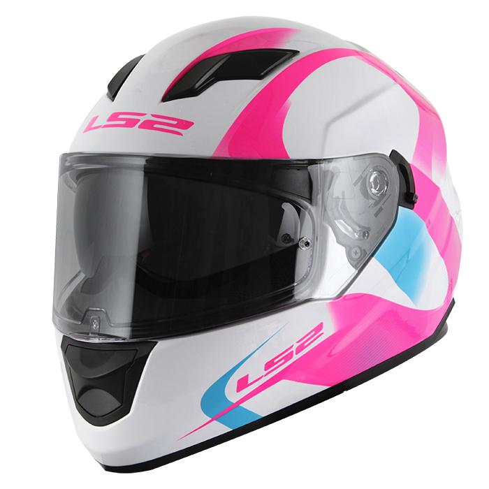 Capacete LS2 FF320 Stream Velvet Pink  - Super Bike - Loja Oficial Alpinestars