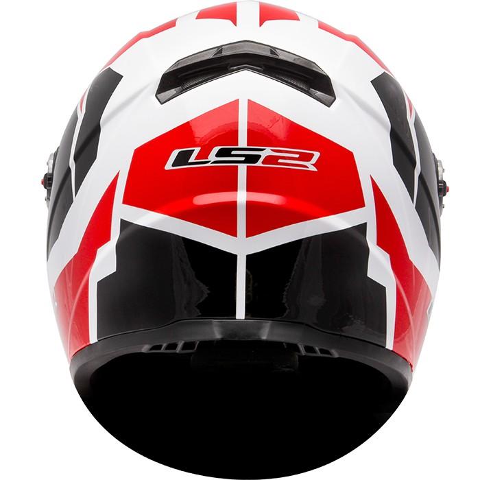 Capacete LS2 FF358 Voltage Vermelho  - Super Bike - Loja Oficial Alpinestars