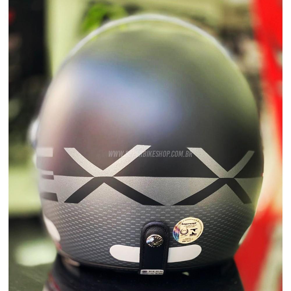 Capacete Nexx X70 City Preto Fosco  - Super Bike - Loja Oficial Alpinestars