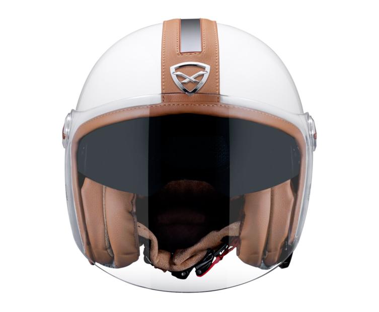 Capacete Nexx X70 Groovy Branco/Caramelo  - Super Bike - Loja Oficial Alpinestars