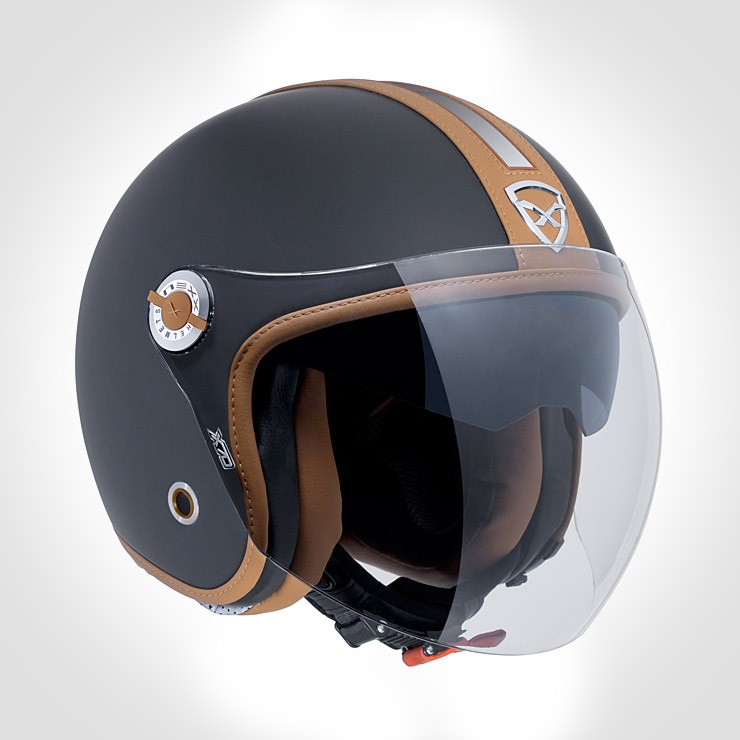 Capacete Nexx X70 Groovy - Preto Fosco Caramelo  - Super Bike - Loja Oficial Alpinestars
