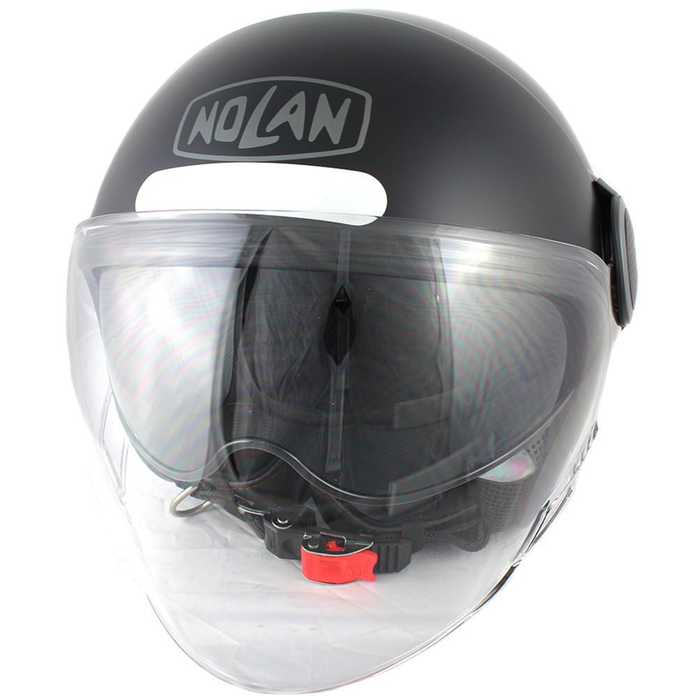 Capacete Nolan N21 Visor Duetto - Preto Fosco Cor 10 - Com Viseira Solar  - Super Bike - Loja Oficial Alpinestars