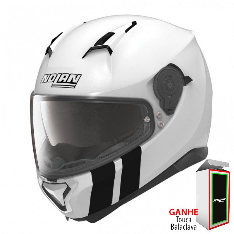 Capacete Nolan N87 Martz N-COM Metal White Lançamento no Brasil!!  - Super Bike - Loja Oficial Alpinestars