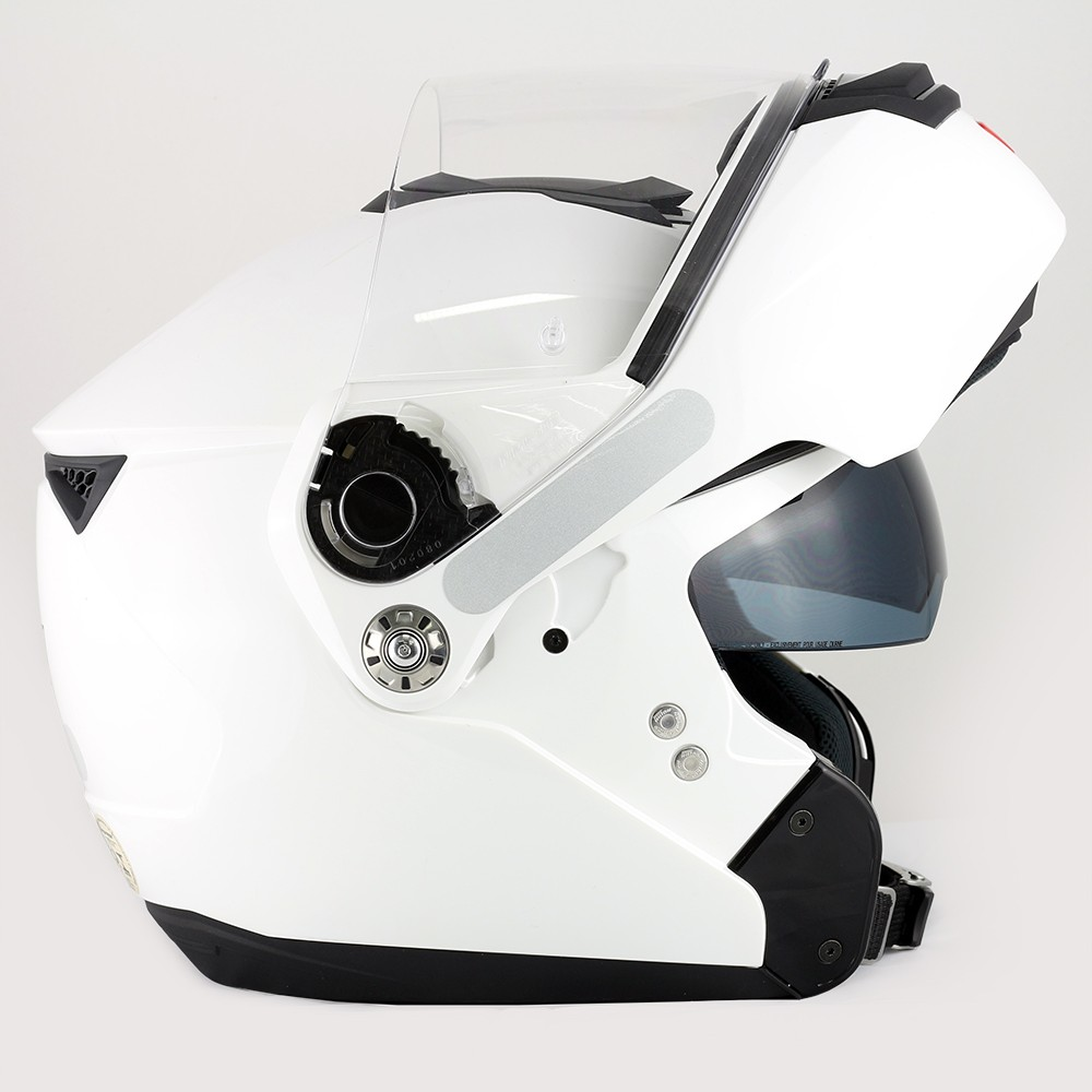 Capacete Nolan N90 Classic - Branco - Escamoteável - Com Viseira Solar -  Ganhe Balaclava Nolan ... c85747d90e