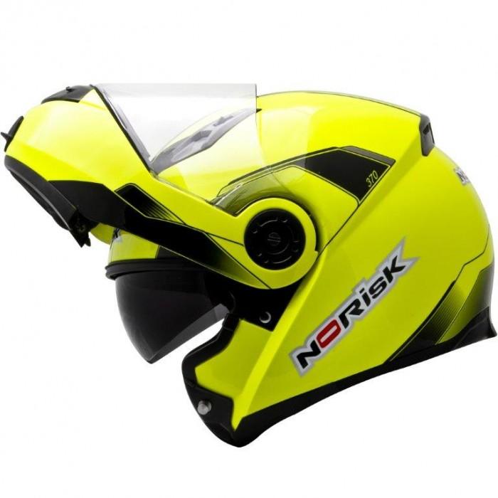 Capacete NoRisk FF370 Midnight Amarelo yellow  - Super Bike - Loja Oficial Alpinestars