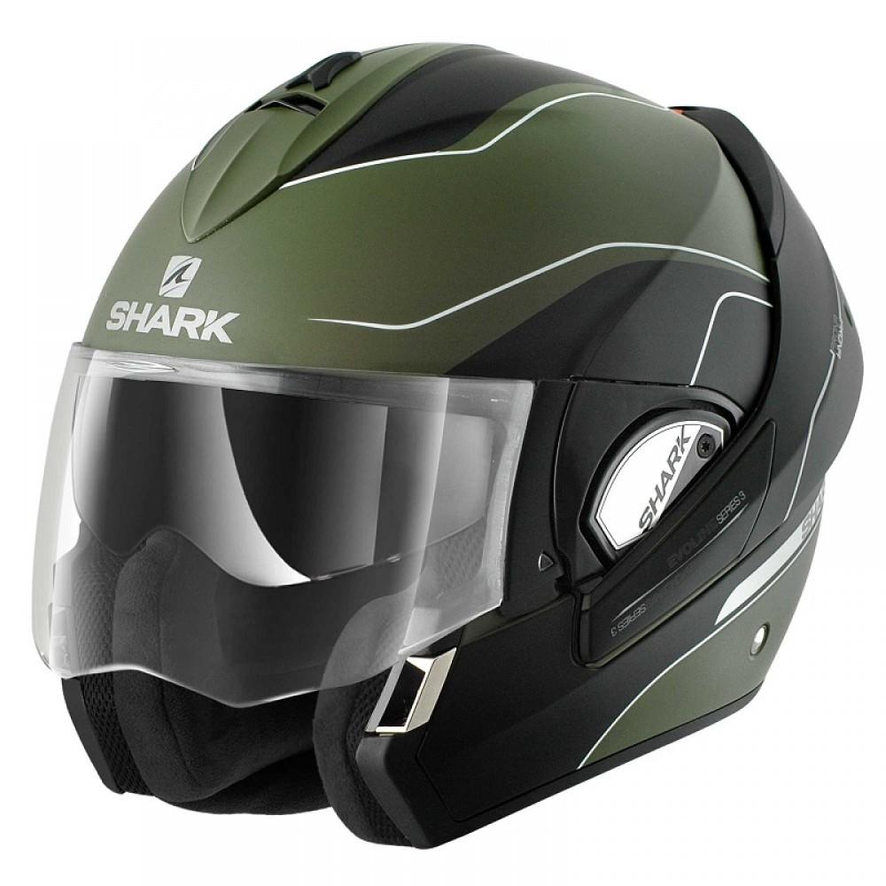 Capacete Shark Evoline Serie 3 Arona Matt GKW  - Super Bike - Loja Oficial Alpinestars