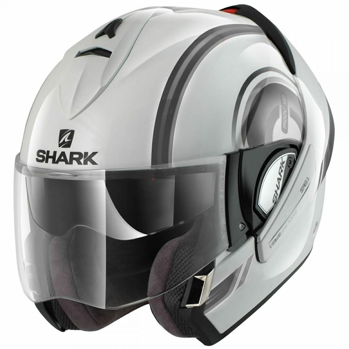 Capacete Shark Evoline Serie 3 Moov Up WKS  - Super Bike - Loja Oficial Alpinestars