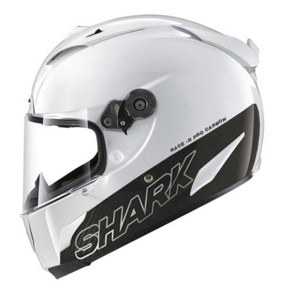 Capacete Shark Race-R PRO Carbon Blank WHU  - Super Bike - Loja Oficial Alpinestars