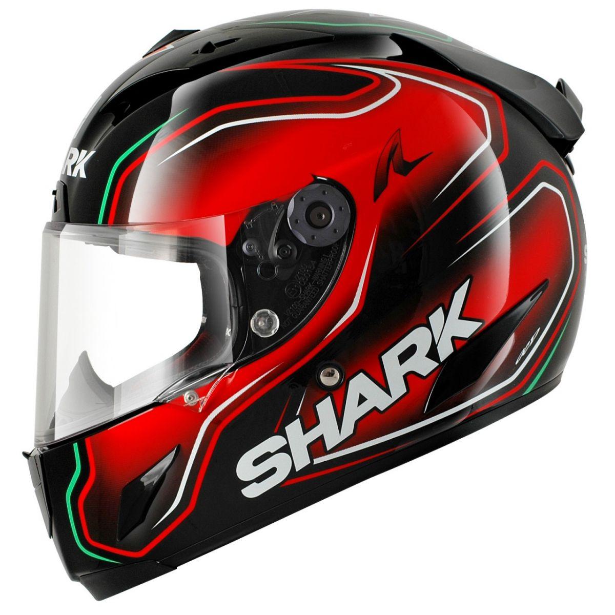Capacete Shark Race-R PRO Carbon Division Replica Guintoli KRG  - Super Bike - Loja Oficial Alpinestars