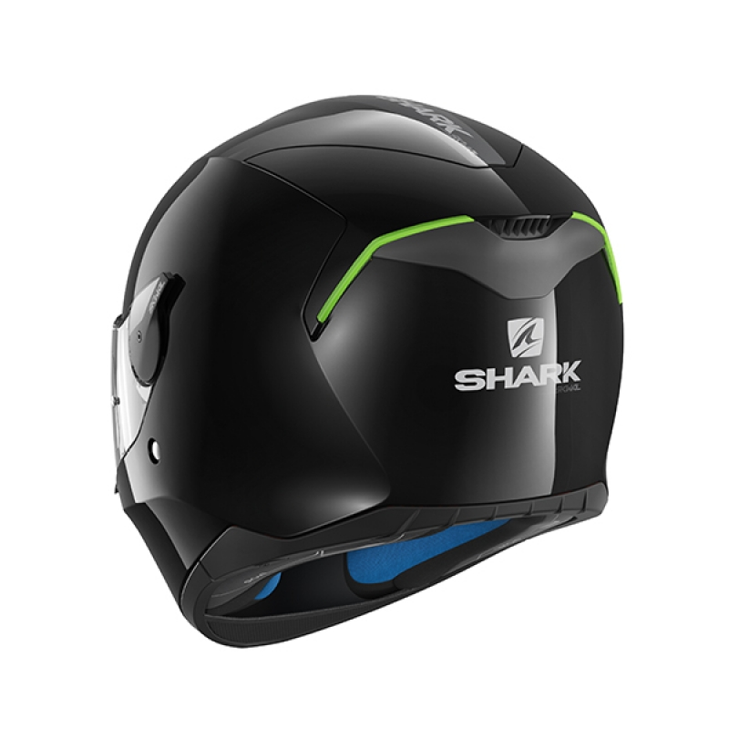 Capacete Shark Skwal Blank BLK Preto  - Super Bike - Loja Oficial Alpinestars