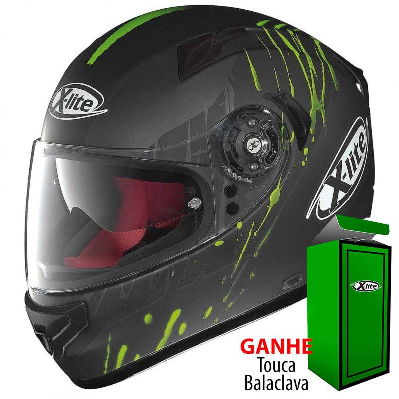 Capacete X-LITE X-661 Spox N-COM Green (Tri-Composto + Viseira Interna) Lançamento!!  - Super Bike - Loja Oficial Alpinestars