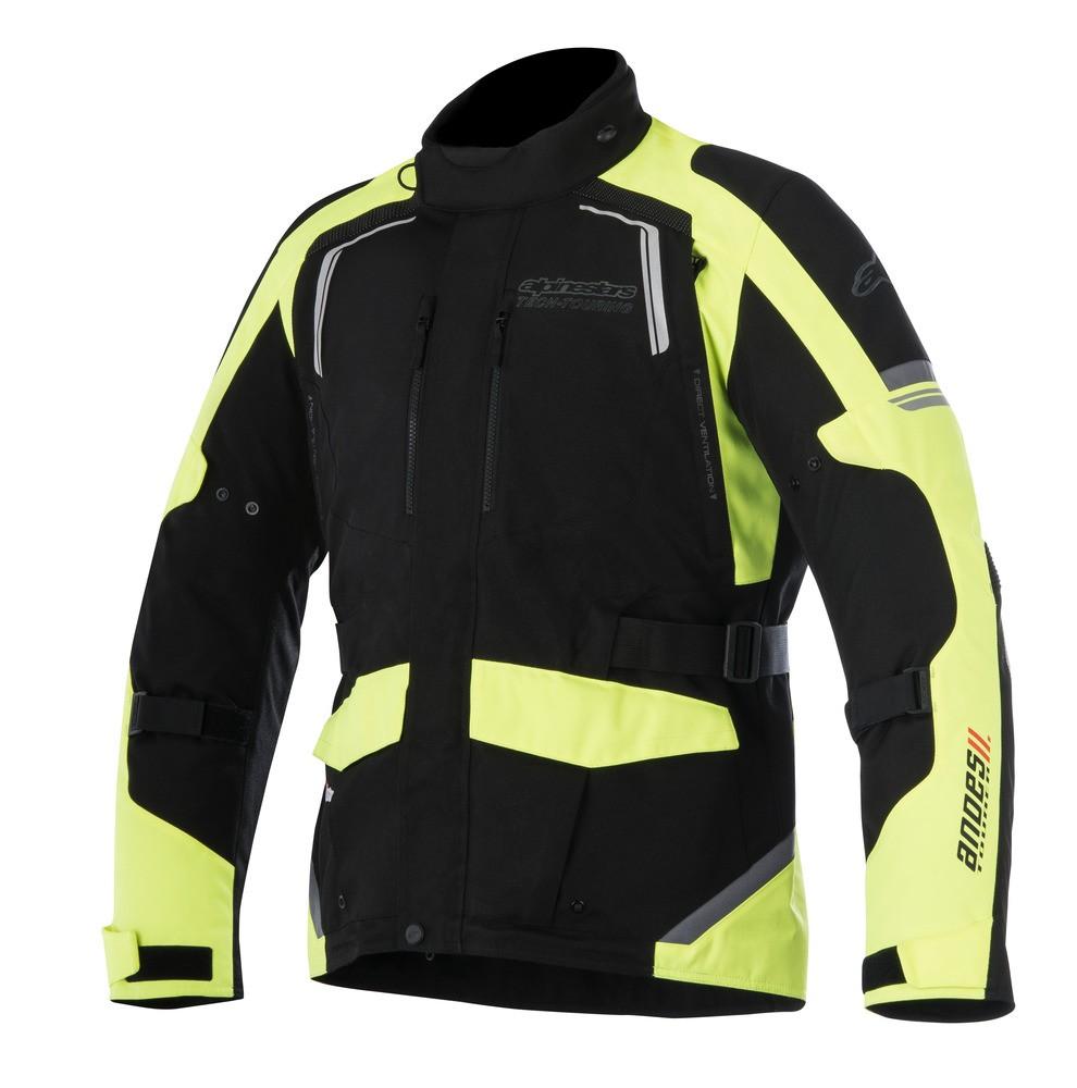 Jaqueta Alpinestars Andes V2 Drystar® Am/Preto Impermeável - Com Vídeo para Big Trail  - Super Bike - Loja Oficial Alpinestars