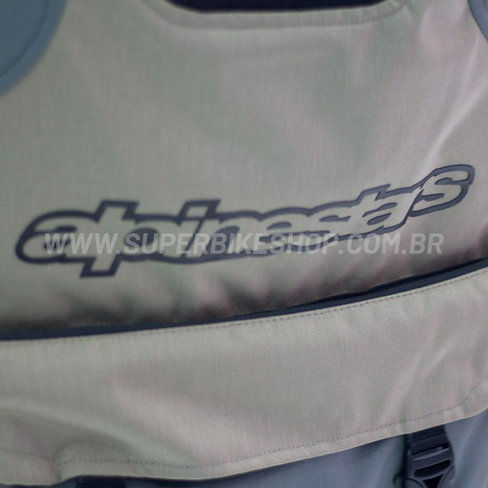 Jaqueta Alpinestars Durban Gore-Tex Cinza/Areia Impermeável - Com Vídeo -   - Super Bike - Loja Oficial Alpinestars