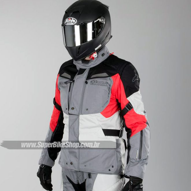 Jaqueta Alpinestars Durban Gore-Tex Tricolor Impermeável - Com Vídeo  - Super Bike - Loja Oficial Alpinestars