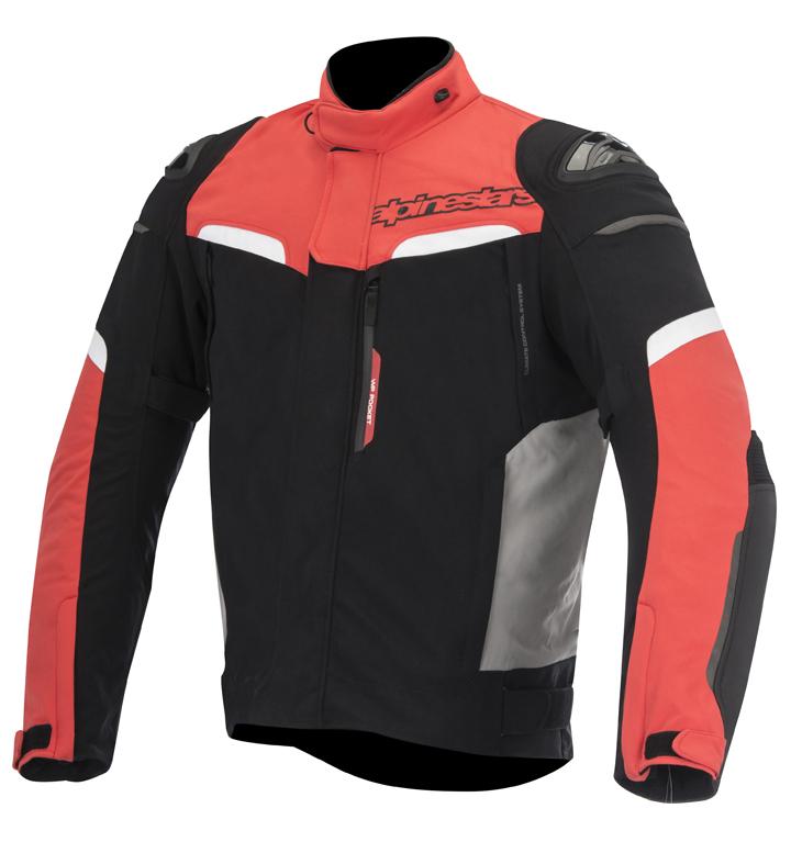 Jaqueta Alpinestars Pikes Drystar Vermelha Impermeável (Só S)  - Super Bike - Loja Oficial Alpinestars