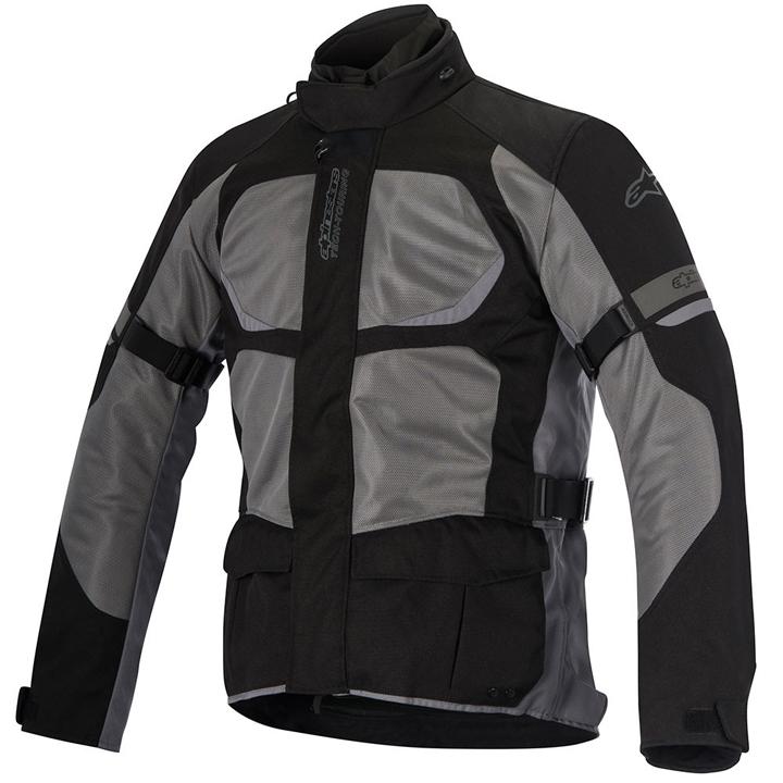 Jaqueta Alpinestars Santa Fé Air Drystar (cinza preto) Lançamento!! para Big Trail  - Super Bike - Loja Oficial Alpinestars