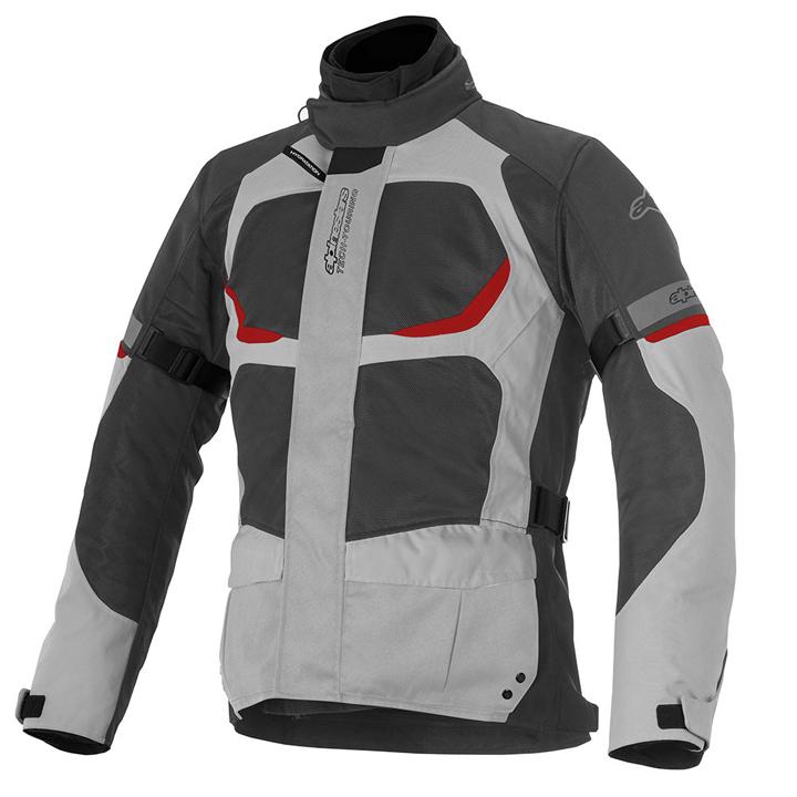 Jaqueta Alpinestars Santa Fé Air Drystar (cinza vermelho) Lançamento!! para Big Trail  - Super Bike - Loja Oficial Alpinestars
