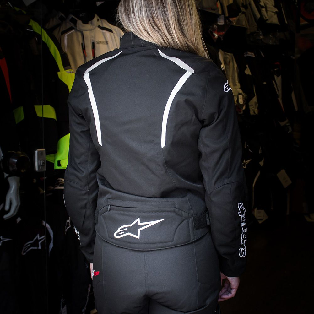 Jaqueta Alpinestars Stella Alux - Preta - Impermeável - Feminina  - Super Bike - Loja Oficial Alpinestars
