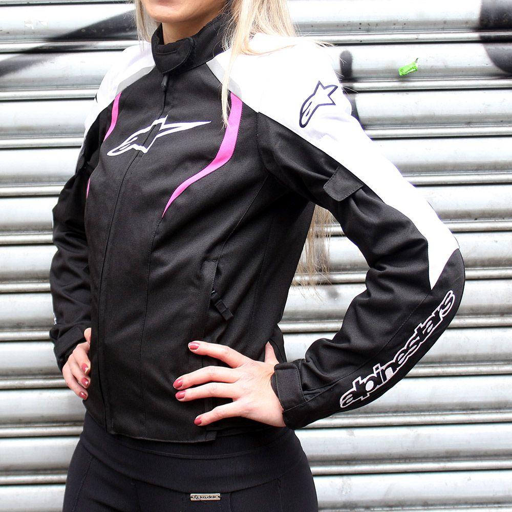 Jaqueta Alpinestars Stella Alux WP (Tricolor Rosa/impermeável/feminina)  - Super Bike - Loja Oficial Alpinestars