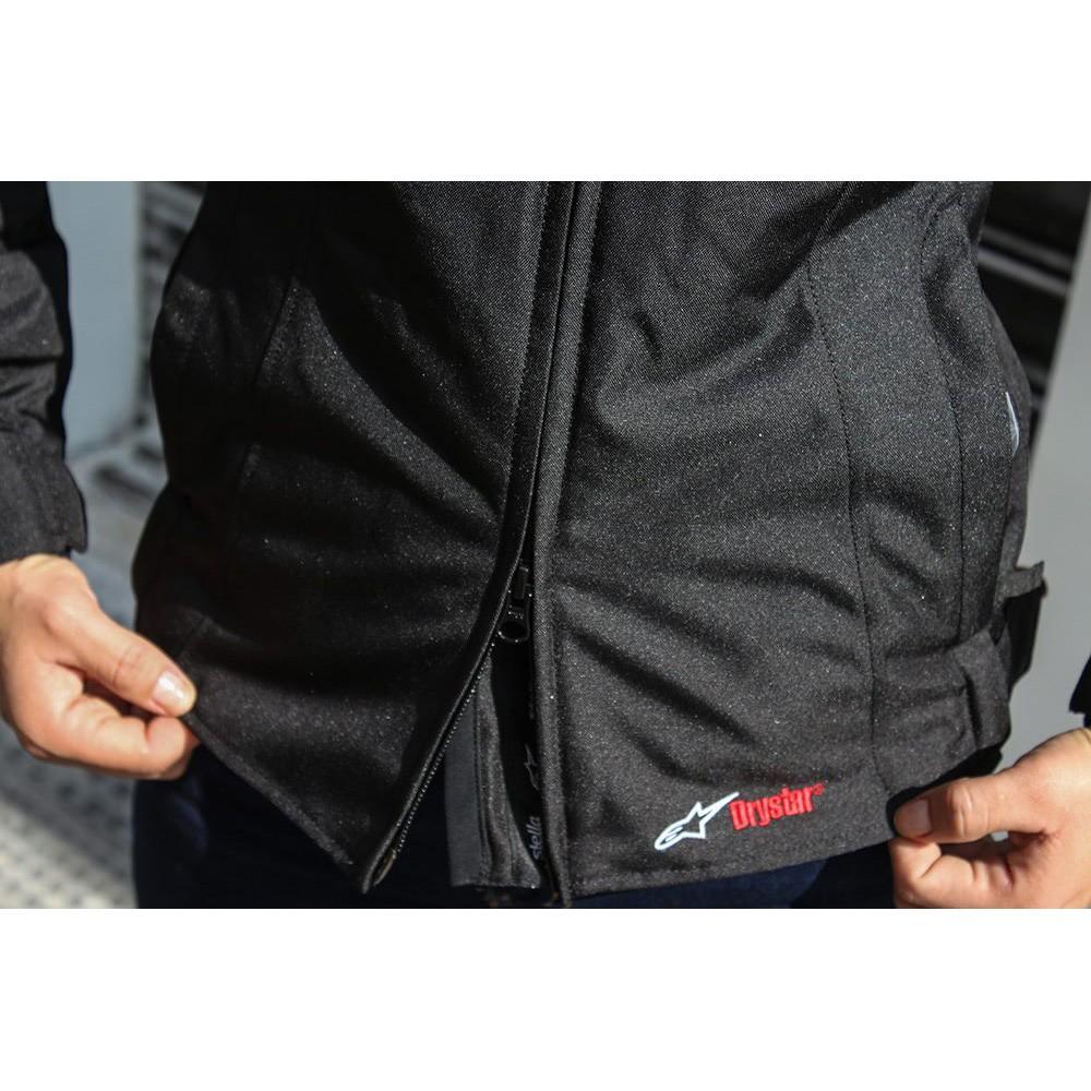 Jaqueta Alpinestars Stella Hyper Drystar® Preto/Fuchsia para Big Trail  - Super Bike - Loja Oficial Alpinestars