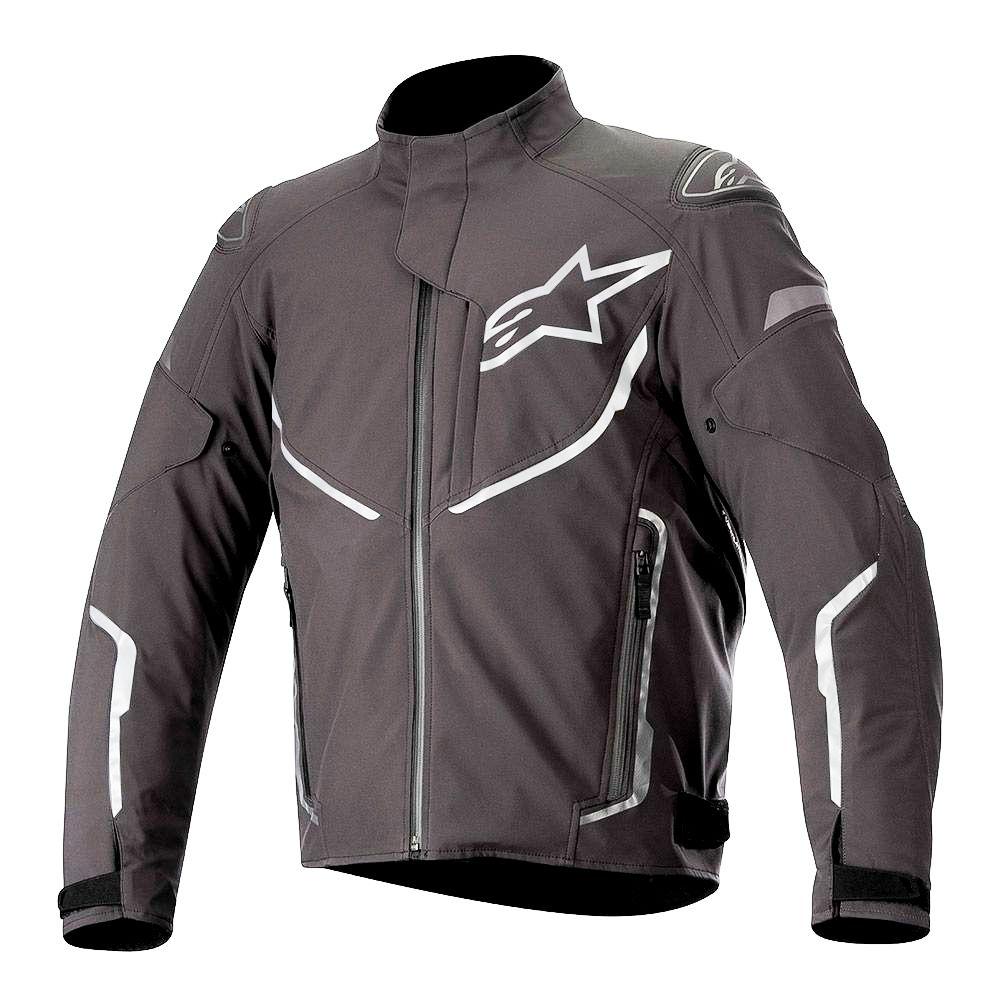 Jaqueta Alpinestars T-Fuse Sport Shell - WP - Preto - Impermeável  - Super Bike - Loja Oficial Alpinestars