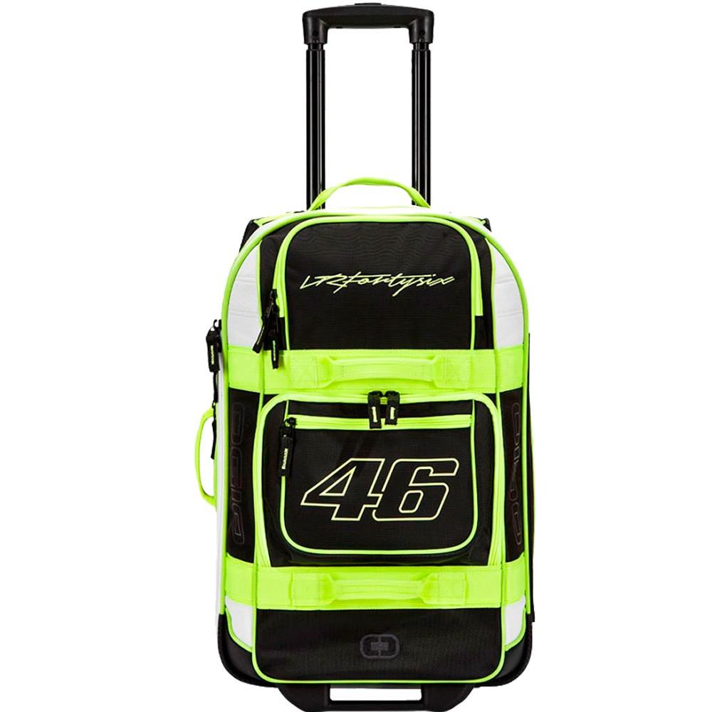 Mala Ogio Layover - 46 Litros - Valentino Rossi - MotoGP VR46 Oficial  - Super Bike - Loja Oficial Alpinestars