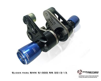 Slider Dianteiro Procton Racing com Amortecimento p/ BMW S1000RR 12/14  - Super Bike - Loja Oficial Alpinestars