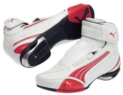Tênis para Pilotagem Puma Testastretta II Branca com Vermelho Lançamento!!  - Super Bike - Loja Oficial Alpinestars