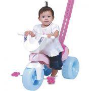 Triciclo Pepita Com Empurrador Xalingo 1 A 4 Anos