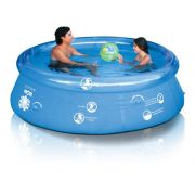 Piscina Splash Fun 2400 litros MOR 2,40m ø - Borda Inflável