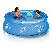 Piscina Splash Fun 2400 litros MOR 2,40m ø - Borda Inflável