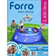 Forro para Piscina 2400 L Splash Fun MOR - 2,50m Piso