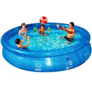 Piscina Splash Fun 6700 litros MOR 3,60m ø - Borda Inflável
