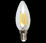 Lâmpada LED Vela E14 Retrô 4W 3000k 110v - Cristallux