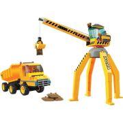 Bloco de Encaixe Guindaste e Caminhão 238 peças - Xalingo
