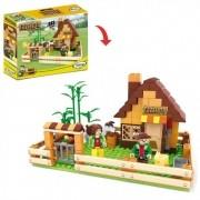Blocos de Encaixe Fazenda casa de Campo com 243 peças - Xalingo