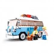 Blocos Retrô Minivan com 227 peças - Xalingo