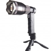 Lanterna Tripé LED CREE XML T6 - Recarregável