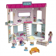 Playset Pet Vet Barbie  - Xalingo