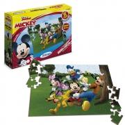 Quebra Cabeça Mickey Club House 60 peças - Xalingo