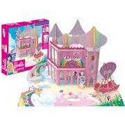 Quebra-cabeça 3D Playset Reino Dreamtopia Barbie - Xalingo
