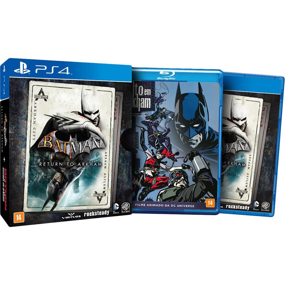 Batman: Return to Arkham - PS4  - FastGames - Gamers levados a sério