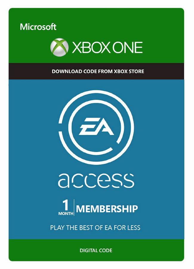 Assinatura EA Access (1 Mês) - XBOX One