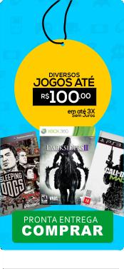 Jogos at� R$ 100,00