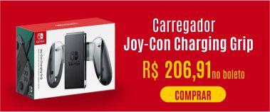 Carregador Joy-Con Charging Grip - Switch