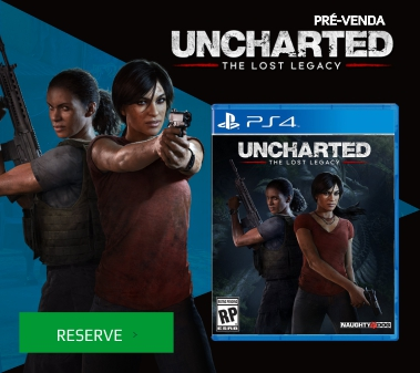 uncharted: the lost legacy (pré-venda) - ps4